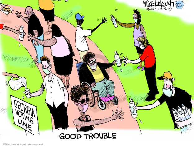 Mike Luckovich  Mike Luckovich's Editorial Cartoons 2021-03-30 democratic