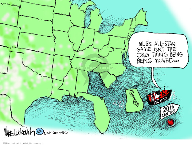 Mike Luckovich  Mike Luckovich's Editorial Cartoons 2021-04-08 democratic