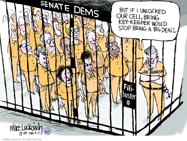 Mike Luckovich  Mike Luckovich's Editorial Cartoons 2021-04-09 democratic