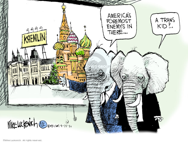 Mike Luckovich  Mike Luckovich's Editorial Cartoons 2021-04-14 America