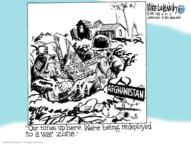 Mike Luckovich  Mike Luckovich's Editorial Cartoons 2021-04-20 mass