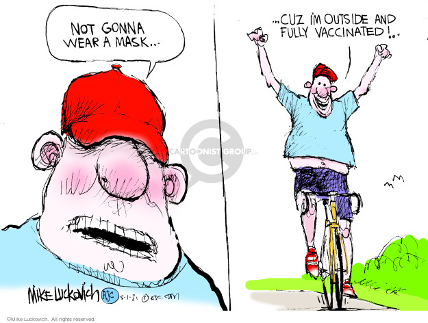 Mike Luckovich  Mike Luckovich's Editorial Cartoons 2021-05-01 outbreak