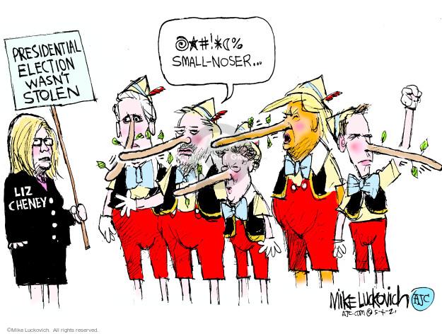 Mike Luckovich  Mike Luckovich's Editorial Cartoons 2021-05-04 Presidency