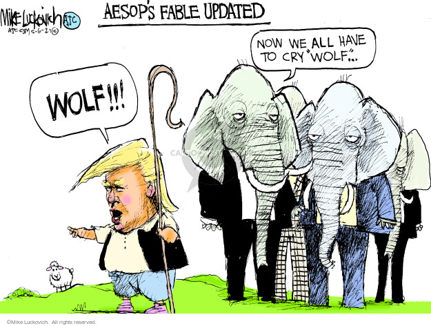 Mike Luckovich  Mike Luckovich's Editorial Cartoons 2021-05-06 former president