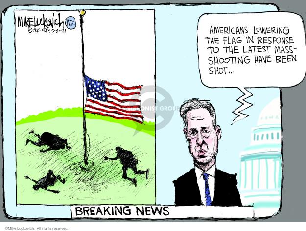 Mike Luckovich  Mike Luckovich's Editorial Cartoons 2021-05-30 mass