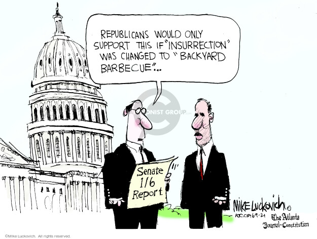 Mike Luckovich  Mike Luckovich's Editorial Cartoons 2021-06-09 republican senate
