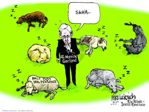 Mike Luckovich  Mike Luckovich's Editorial Cartoons 2021-06-16 Mike