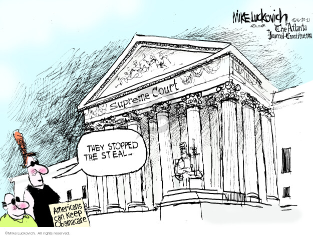 Mike Luckovich  Mike Luckovich's Editorial Cartoons 2021-06-20 Mike