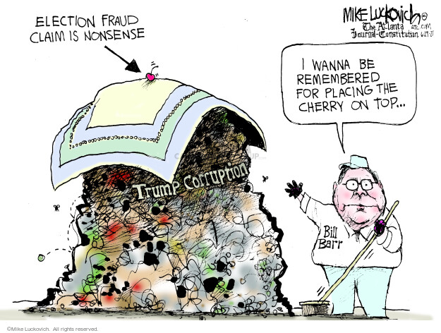 Mike Luckovich  Mike Luckovich's Editorial Cartoons 2021-06-29 2020 election Donald Trump