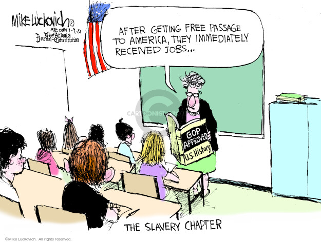 Mike Luckovich  Mike Luckovich's Editorial Cartoons 2021-07-09 conservative