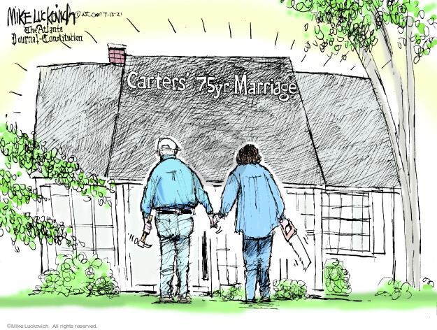 Mike Luckovich  Mike Luckovich's Editorial Cartoons 2021-07-13 politics