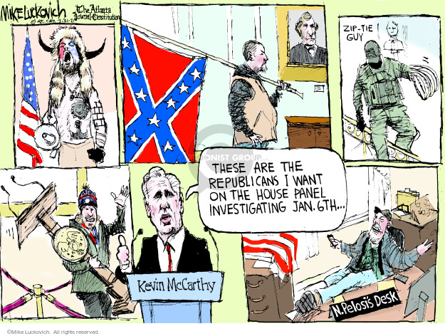 Mike Luckovich  Mike Luckovich's Editorial Cartoons 2021-07-21 republican