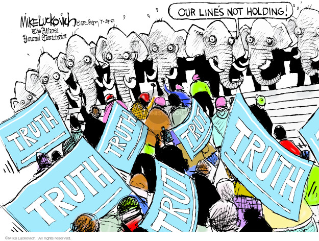 Mike Luckovich  Mike Luckovich's Editorial Cartoons 2021-07-28 republican