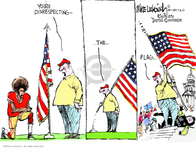 Mike Luckovich  Mike Luckovich's Editorial Cartoons 2021-07-30 capitol