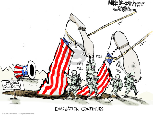 Mike Luckovich  Mike Luckovich's Editorial Cartoons 2021-08-18 editorial