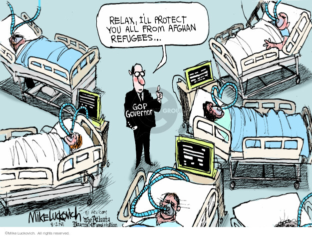 Mike Luckovich  Mike Luckovich's Editorial Cartoons 2021-08-27 editorial