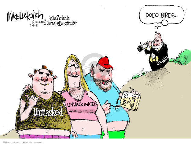 Mike Luckovich  Mike Luckovich's Editorial Cartoons 2021-09-01 editorial