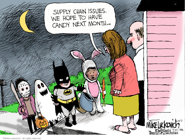 Mike Luckovich  Mike Luckovich's Editorial Cartoons 2021-10-14 economic
