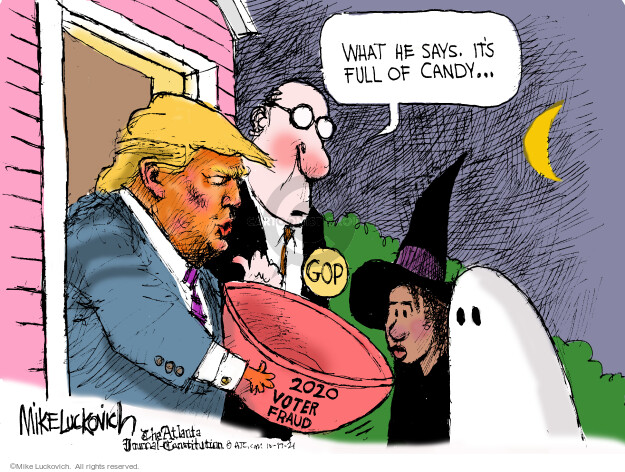 Mike Luckovich  Mike Luckovich's Editorial Cartoons 2021-10-17 republican