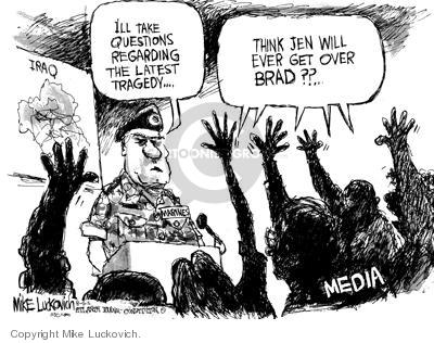 Mike Luckovich  Mike Luckovich's Editorial Cartoons 2005-08-06 journalism