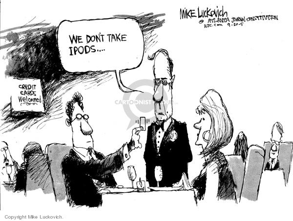 Mike Luckovich  Mike Luckovich's Editorial Cartoons 2005-09-19 high-tech