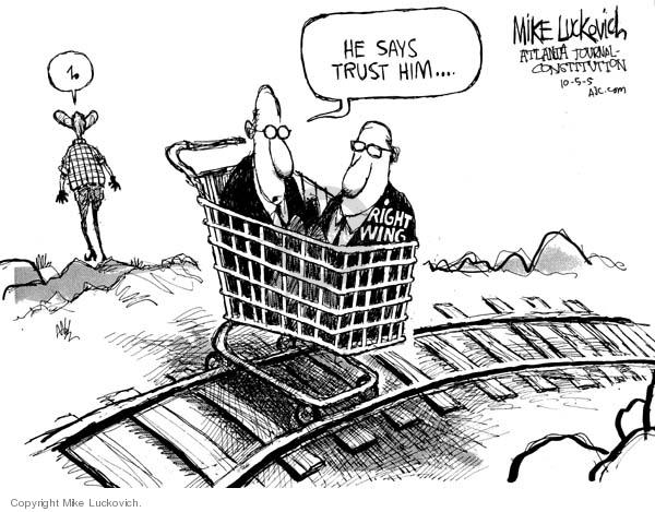 Cartoonist Mike Luckovich  Mike Luckovich's Editorial Cartoons 2005-10-05 judicial branch