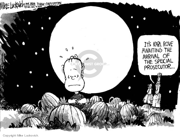 Cartoonist Mike Luckovich  Mike Luckovich's Editorial Cartoons 2005-10-14 CIA