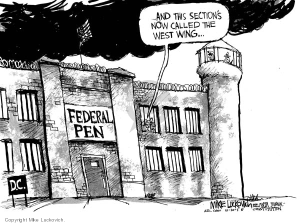 Mike Luckovich  Mike Luckovich's Editorial Cartoons 2005-10-20 branch of government