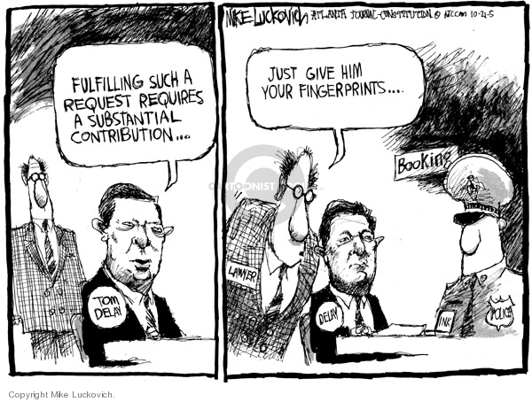 Mike Luckovich  Mike Luckovich's Editorial Cartoons 2005-10-21 bend