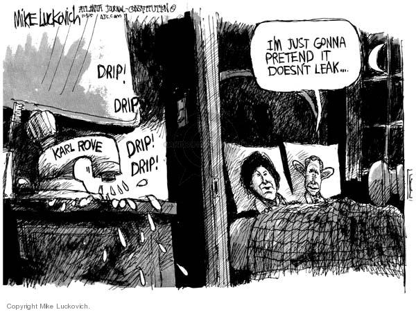 Mike Luckovich  Mike Luckovich's Editorial Cartoons 2005-11-03 deputy