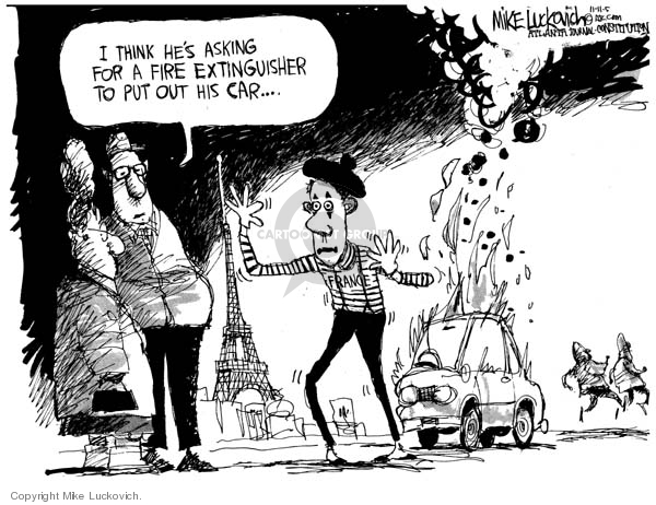 Cartoonist Mike Luckovich  Mike Luckovich's Editorial Cartoons 2005-11-10 communication