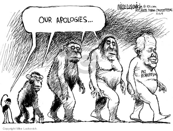 Cartoonist Mike Luckovich  Mike Luckovich's Editorial Cartoons 2005-11-15 high school