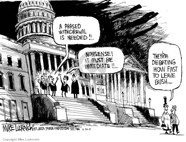 Mike Luckovich  Mike Luckovich's Editorial Cartoons 2005-11-20 number