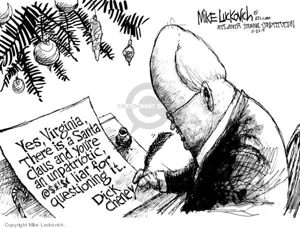 Mike Luckovich  Mike Luckovich's Editorial Cartoons 2005-11-23 Virginia