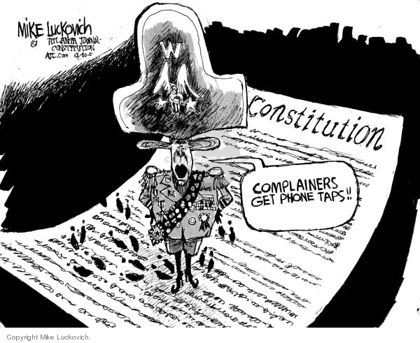 Cartoonist Mike Luckovich  Mike Luckovich's Editorial Cartoons 2005-12-20 authority