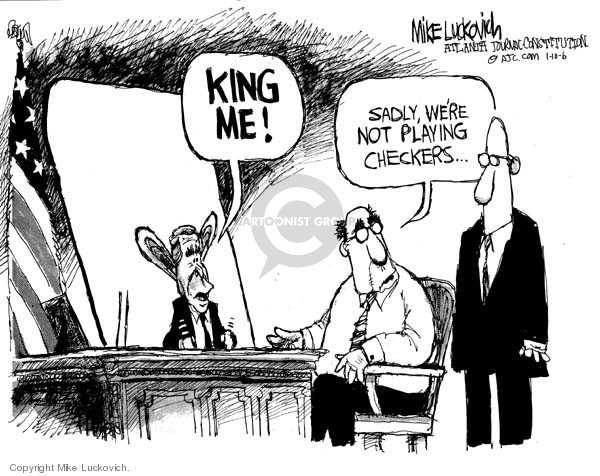Mike Luckovich  Mike Luckovich's Editorial Cartoons 2006-01-10 branch of government