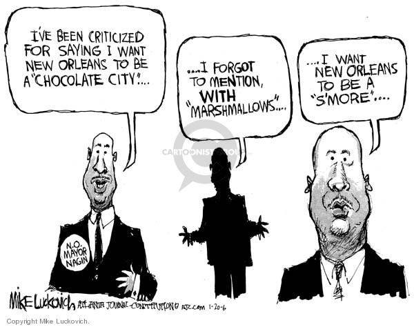 Mike Luckovich  Mike Luckovich's Editorial Cartoons 2006-01-20 hurricane