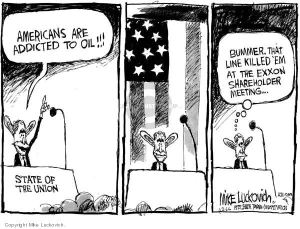 Mike Luckovich  Mike Luckovich's Editorial Cartoons 2006-02-02 energy policy