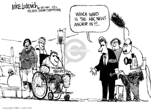 Mike Luckovich  Mike Luckovich's Editorial Cartoons 2006-02-03 veteran