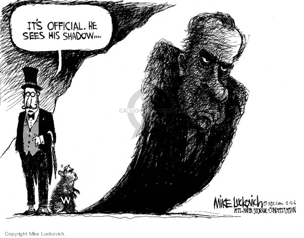 Mike Luckovich  Mike Luckovich's Editorial Cartoons 2006-02-05 branch of government