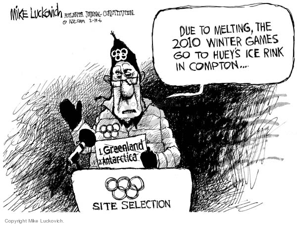 Mike Luckovich  Mike Luckovich's Editorial Cartoons 2006-02-20 selection