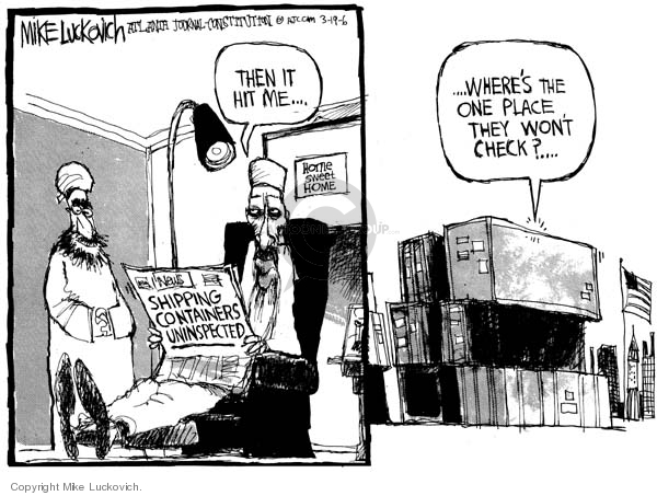 Mike Luckovich  Mike Luckovich's Editorial Cartoons 2006-03-19 place