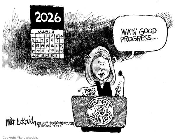 Mike Luckovich  Mike Luckovich's Editorial Cartoons 2006-03-22 good