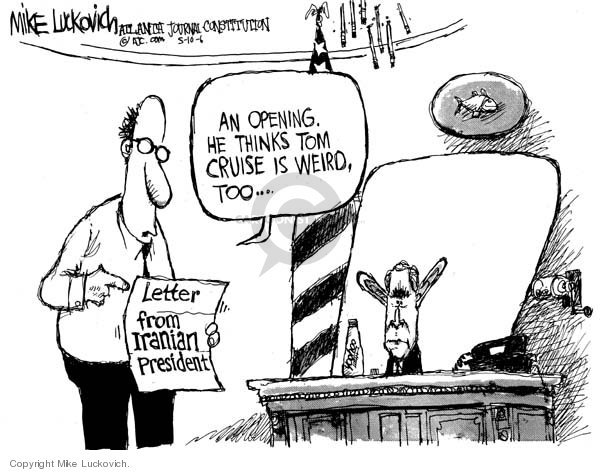 Mike Luckovich  Mike Luckovich's Editorial Cartoons 2006-05-10 energy policy