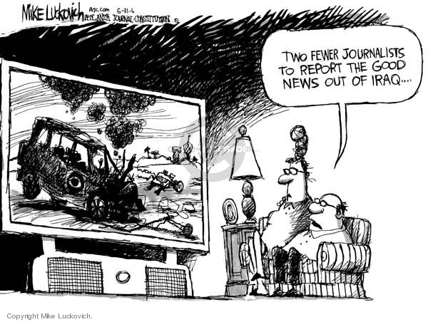 Mike Luckovich  Mike Luckovich's Editorial Cartoons 2006-05-31 journalism