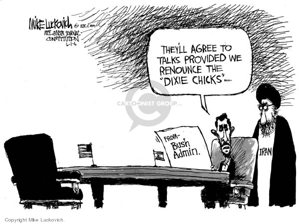 Mike Luckovich  Mike Luckovich's Editorial Cartoons 2006-06-01 power