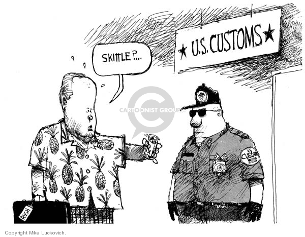 Mike Luckovich  Mike Luckovich's Editorial Cartoons 2006-06-28 candy