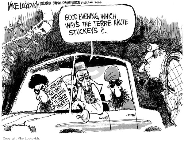 Mike Luckovich  Mike Luckovich's Editorial Cartoons 2006-07-14 good