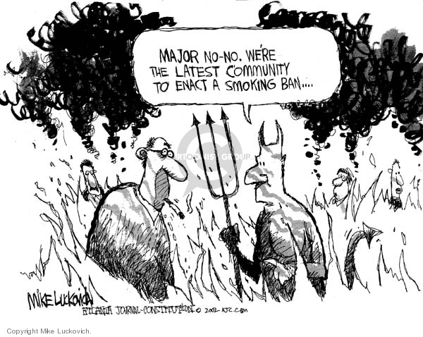 Mike Luckovich  Mike Luckovich's Editorial Cartoons 2006-07-17 afterlife