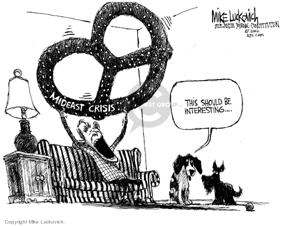 Mike Luckovich  Mike Luckovich's Editorial Cartoons 2006-07-24 room